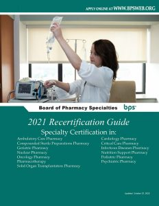 2021 Recertification Guide Cover Page