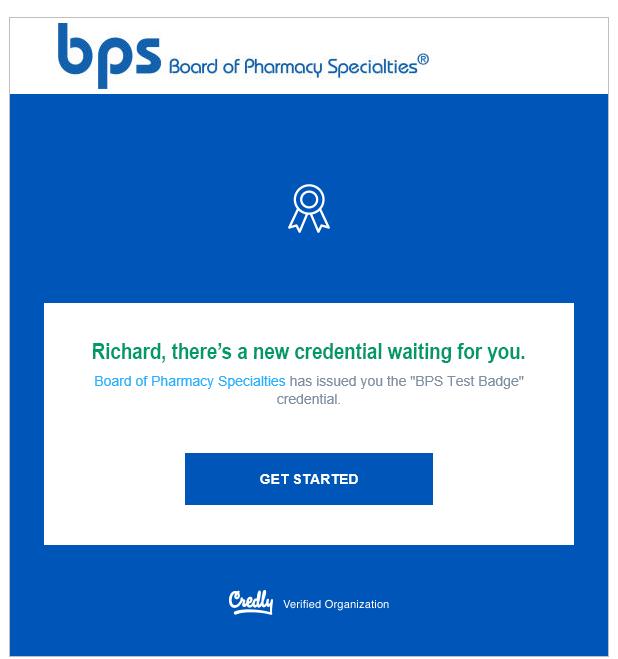 Certification Digital Badges Board Of Pharmacy Specialties