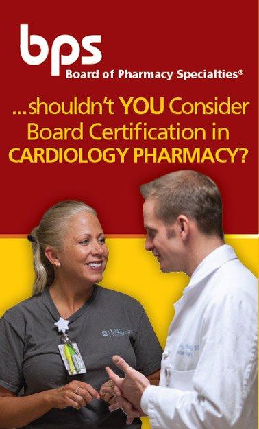 Cardiology Pharmacy – Board of Pharmacy Specialties