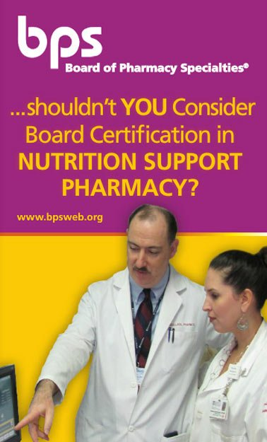 Nutrition Support Pharmacy Board Of Pharmacy Specialties