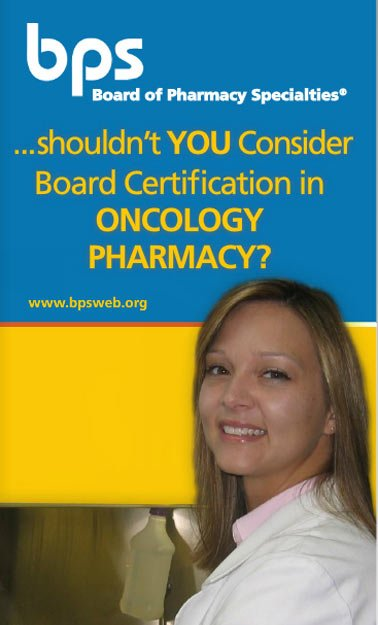 Oncology Pharmacy – Board of Pharmacy Specialties